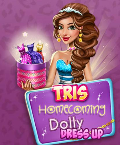 Tris Homecoming Dolly Dress Up