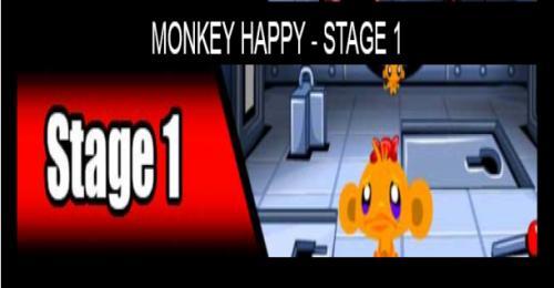 Monkey Happy Stage 1